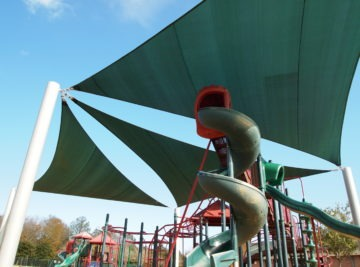 Tallahassee custom playground sail shade structures 8