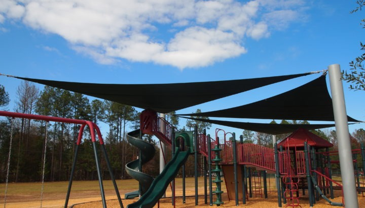Tallahassee custom playground sail shade structures 9