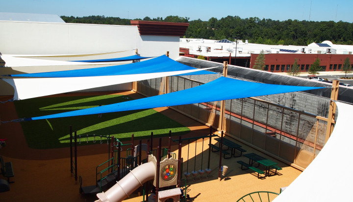 Rooftop Sail Shade Structures 10