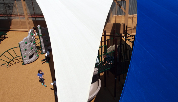 Rooftop Sail Shade Structures 11