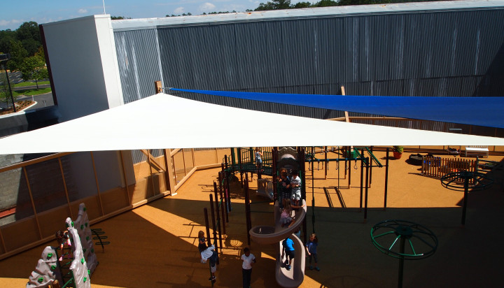 Rooftop Sail Shade Structures 12