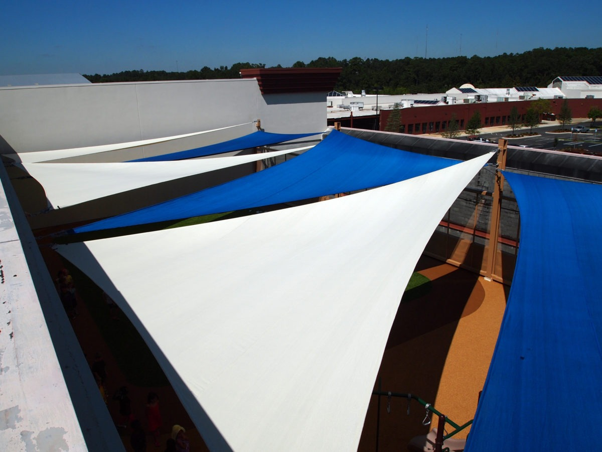 Rooftop Sail Shade Structures 13