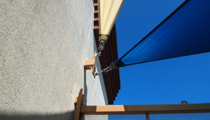 Rooftop Sail Shade Structures 15
