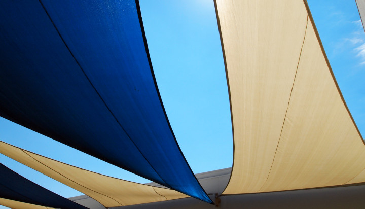 Rooftop Sail Shade Structures 17