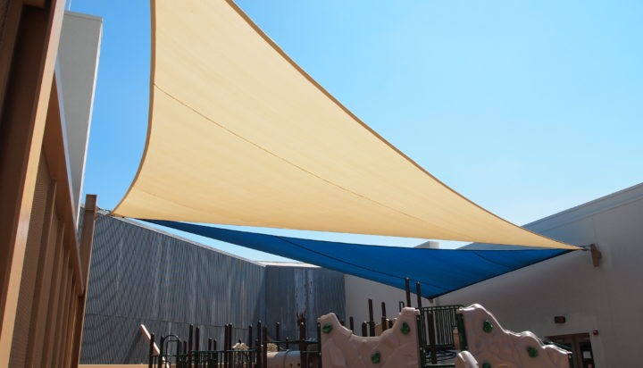 Rooftop Sail Shade Structures 18