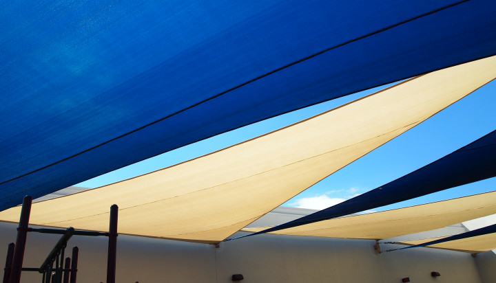 Rooftop Sail Shade Structures 19