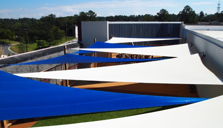 Rooftop Sail Shade Structures 2