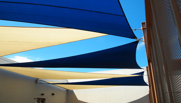 Rooftop Sail Shade Structures 20