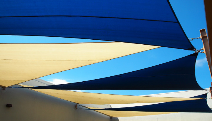 Rooftop Sail Shade Structures 21