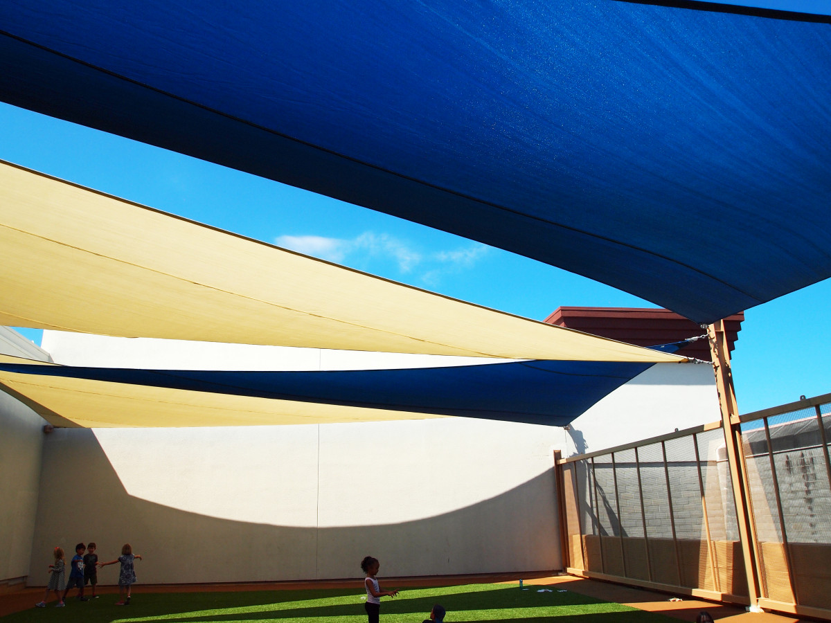 Rooftop Sail Shade Structures 22