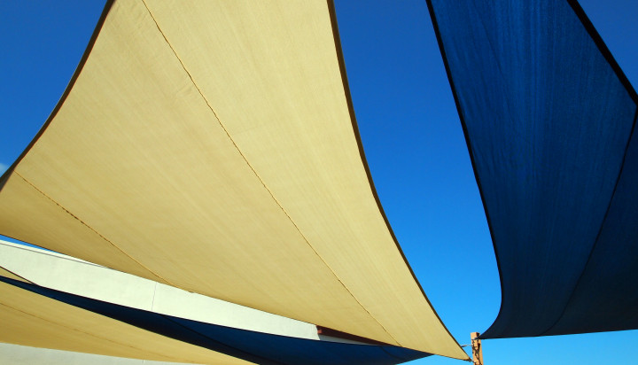 Rooftop Sail Shade Structures 23