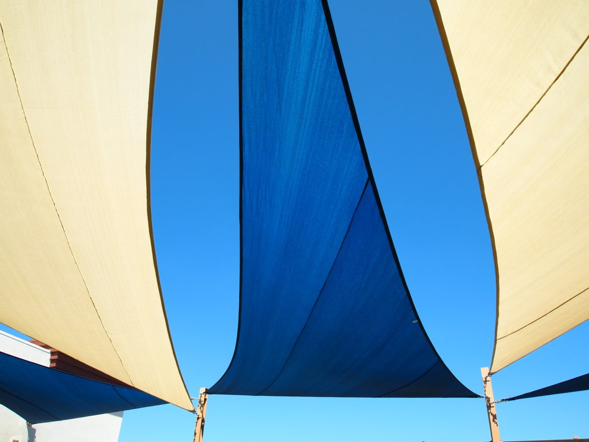 Rooftop Sail Shade Structures 24