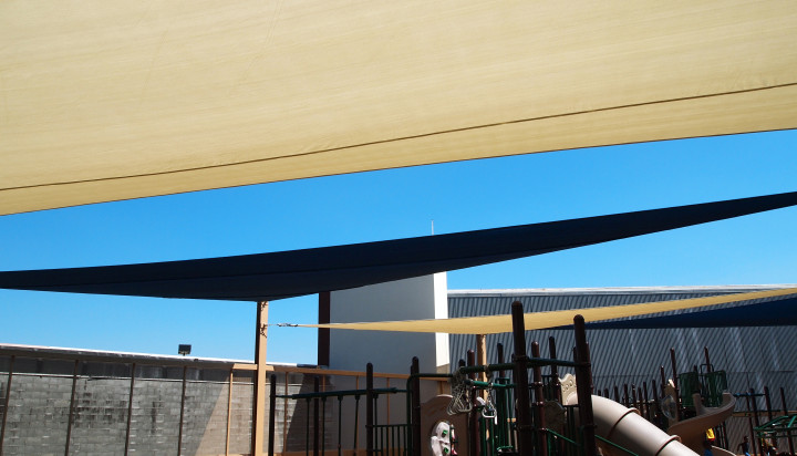 Rooftop Sail Shade Structures 26