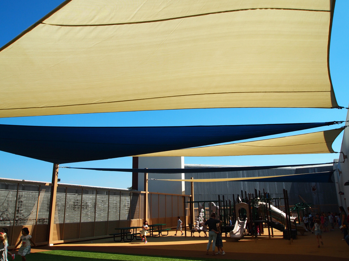 Rooftop Sail Shade Structures 27