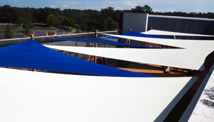 Rooftop Sail Shade Structures 3
