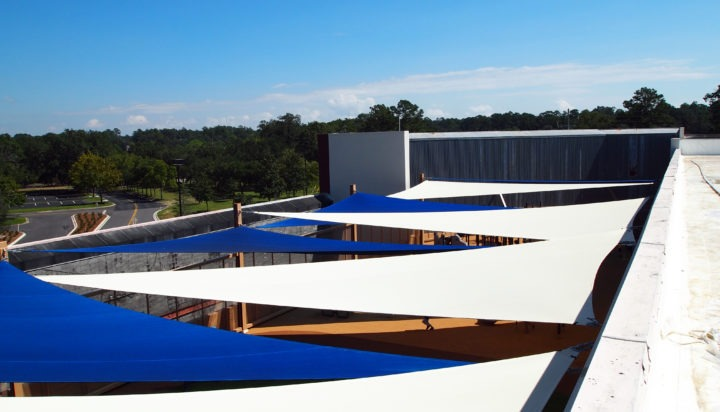 Rooftop Sail Shade Structures 4