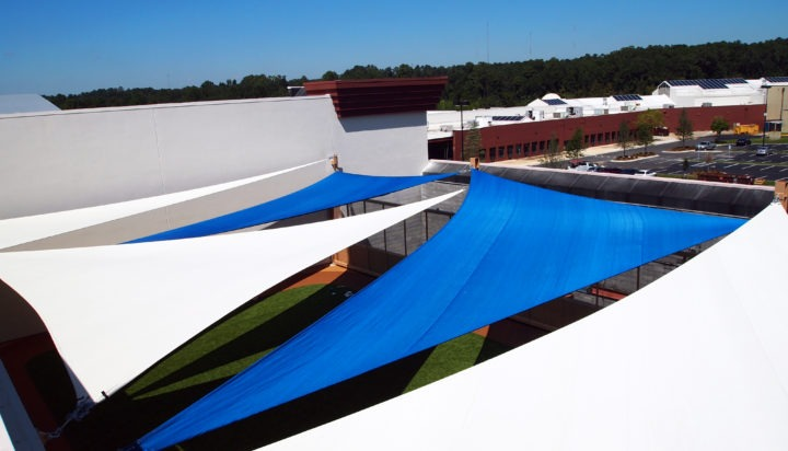 Rooftop Sail Shade Structures 6