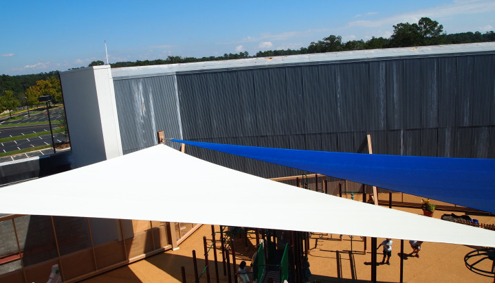 Rooftop Sail Shade Structures 7