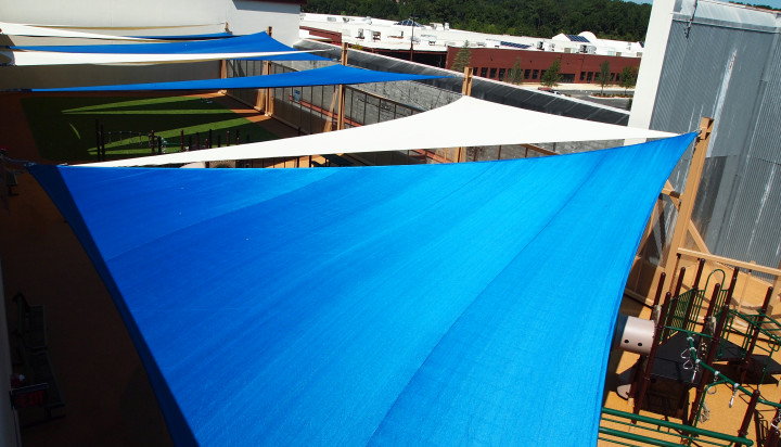 Rooftop Sail Shade Structures 8