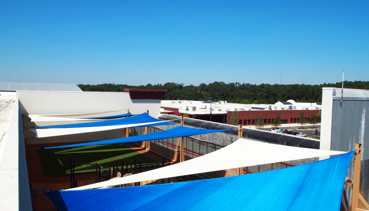 Rooftop Sail Shade Structures 9