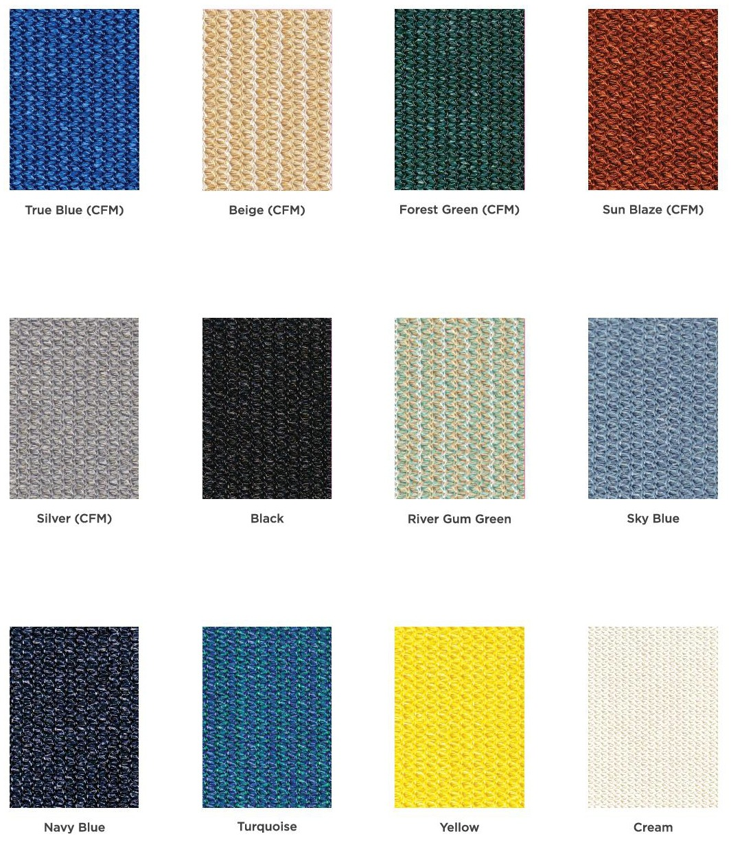 Fabric Color Options