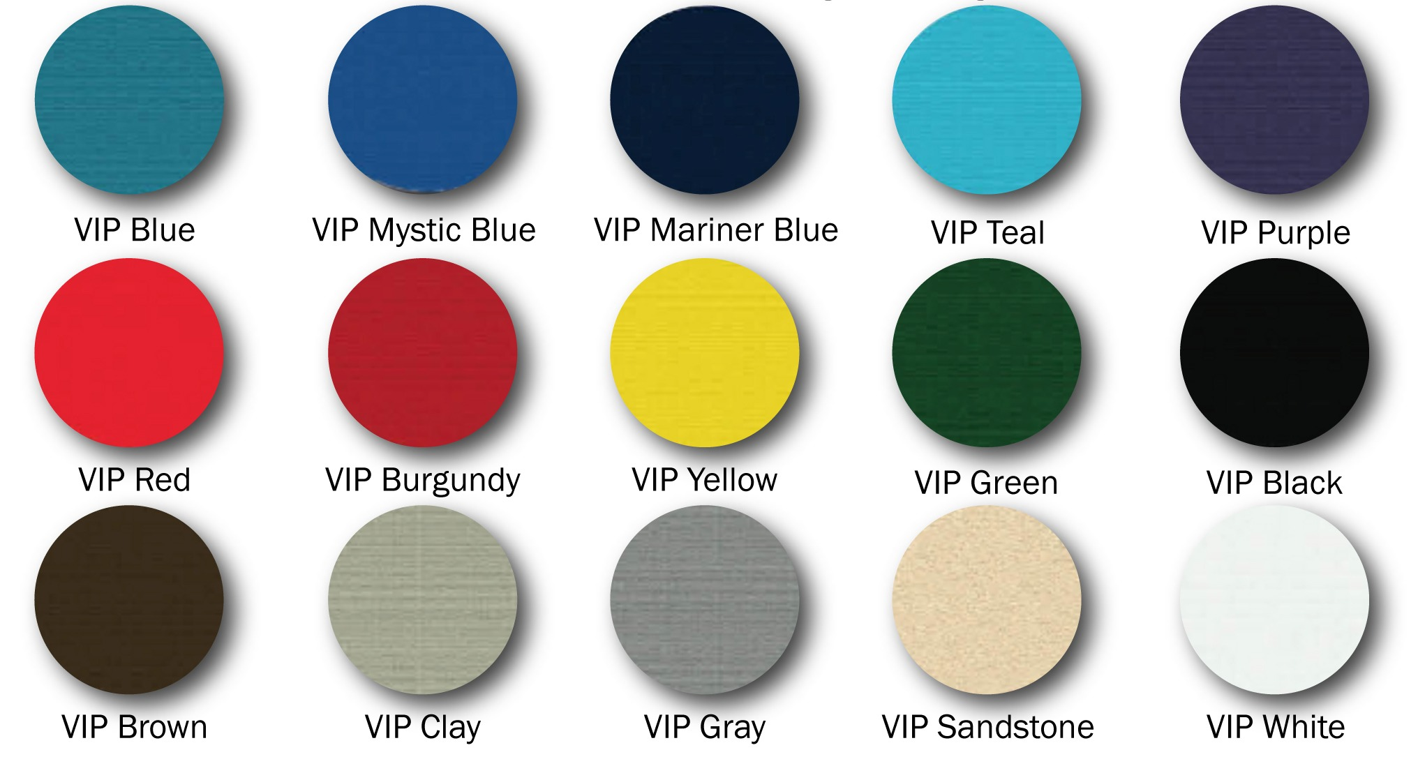 Polyetheylene Colors