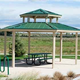 Metal Shelters and Pavilions
