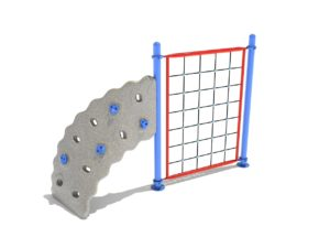 1 panel rope challenger commercial climber 1