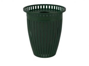 32 gal crown trash receptacle