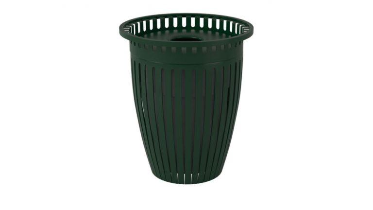 32 gal crown trash receptacle