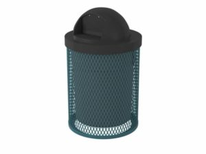 32 gal l series trash can
