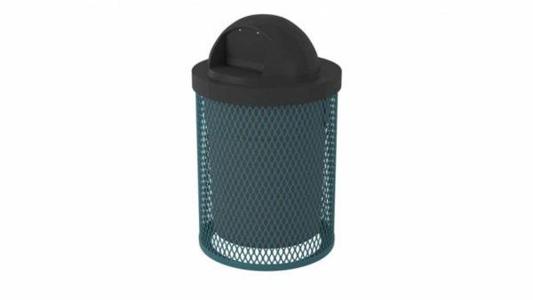 32 gal l series trash can
