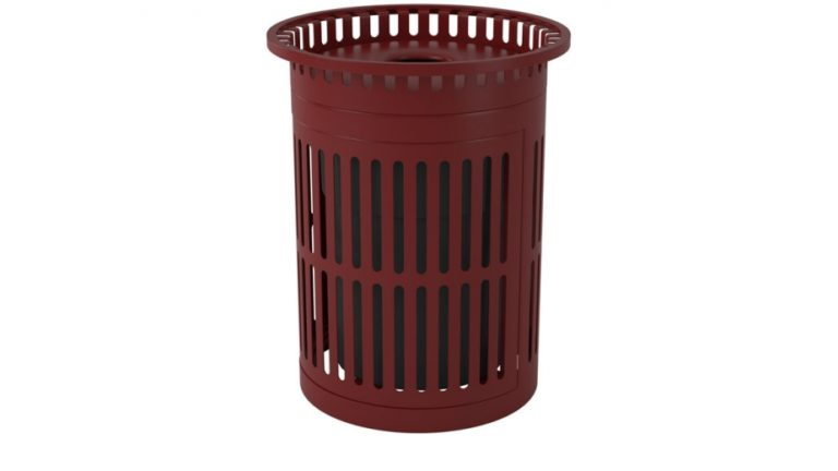 32 gal metro trash receptacle