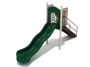 4 foot single wave commercial slide 1