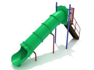 6 foot straight tube commercial slide 1