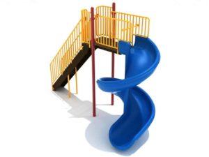 8 foot 450 degree spiral commercial slide 1