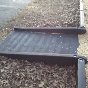 ADA Half Ramp for Playground Timbers
