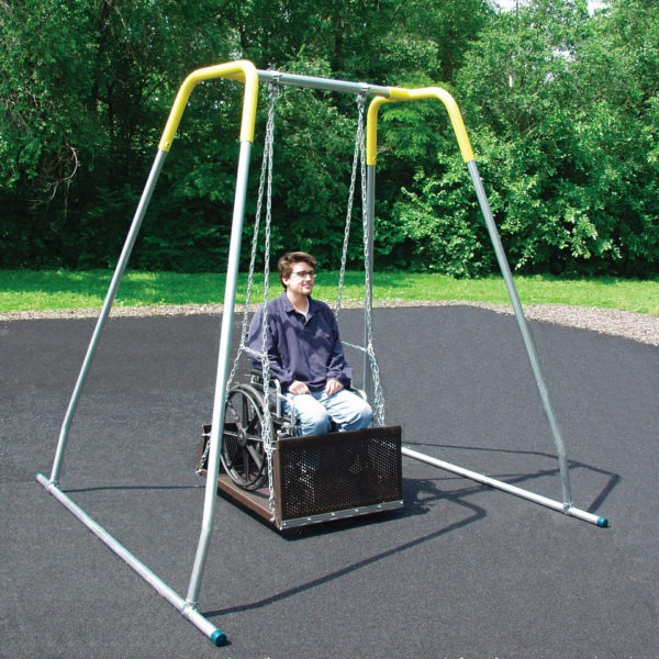 Ada Wheelchair Swing Pro Playgrounds The Play