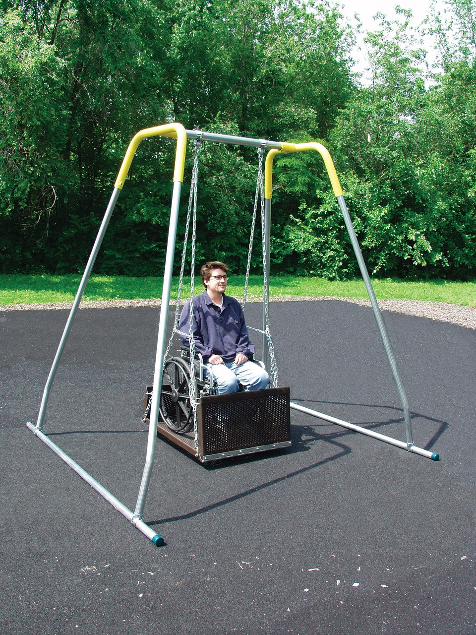 Ada Wheelchair Swing Pro Playgrounds The Play And