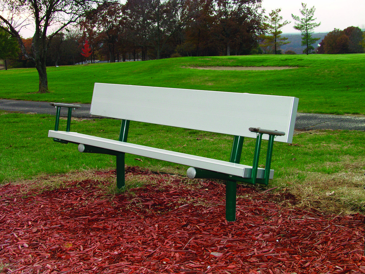 Aluminum Park Bench Pro Playgrounds The Play Recreation Experts