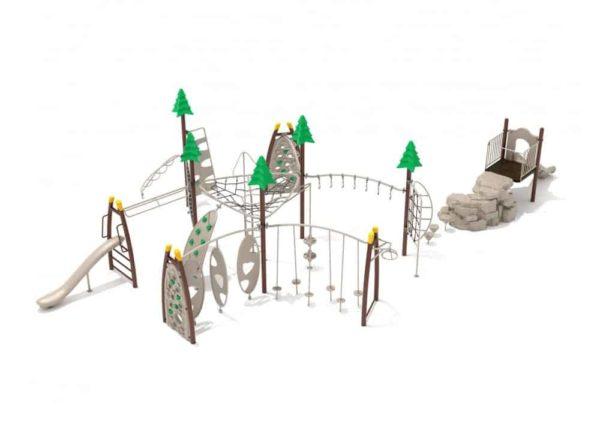 bucktown commercial playground structure 1