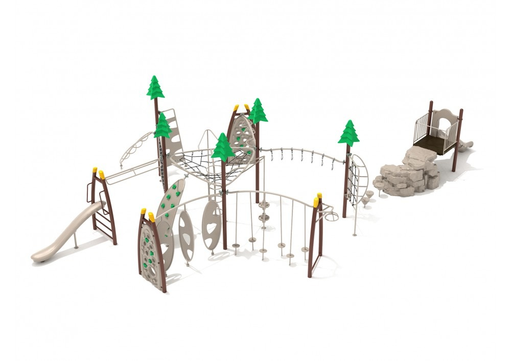 bucktown commercial playground structure 1