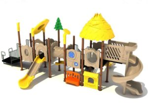carnation station commercial playground structure 1