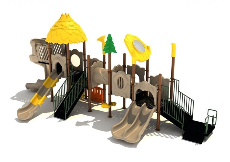 carnation station commercial playground structure 2