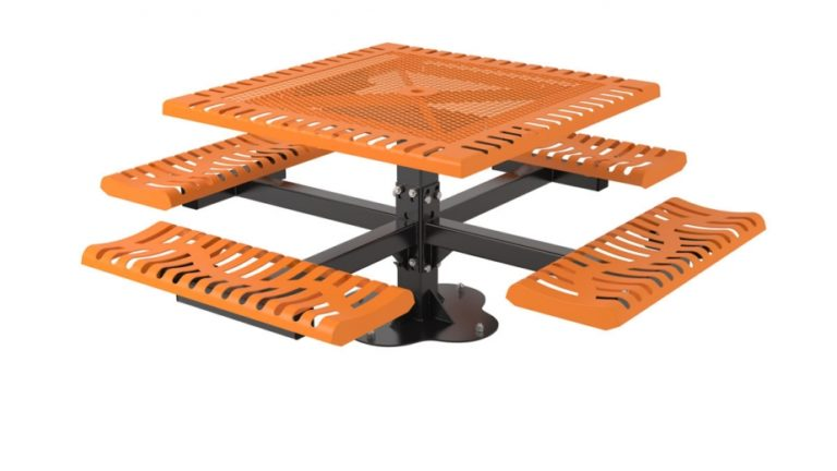 classic pedestal picnic table ada