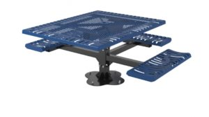 classic pedestal picnic table ada surface mount