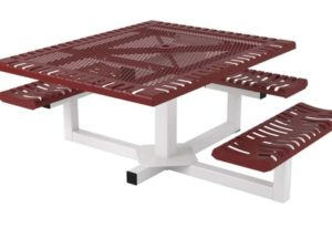 classic pedestal picnic table ada2