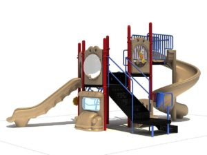 columns of fun commercial playground 1