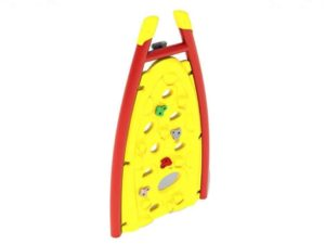 curved panel commercial climber attachment