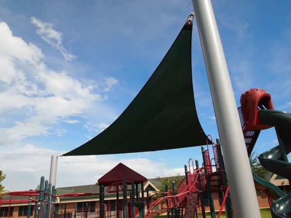 custom commercial sail shade structure 1